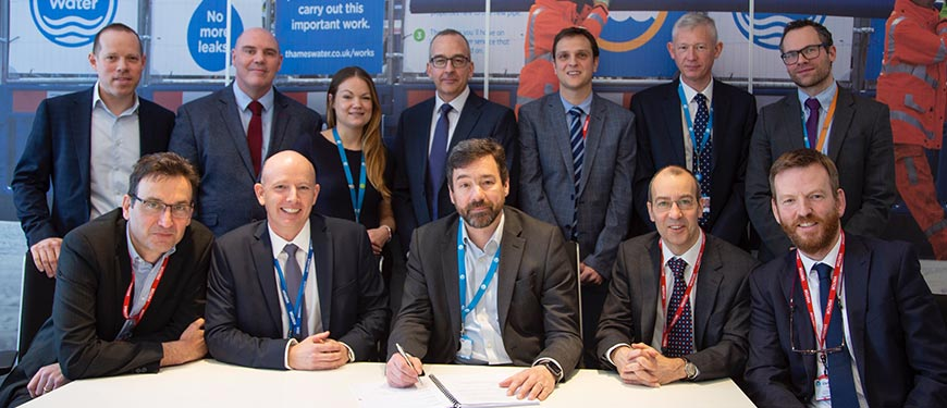 Simon dray Hydrosave leakage contract signing